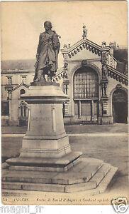 49-cpa-Angers-Estatua-David-d-039-Angers-y-la-Union-agricola-de-Anjo-H9465