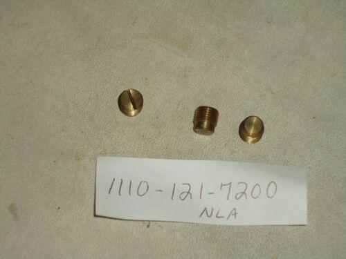 New OEM Stihl 041 Chainsaw Brass Plug 1110 121 7200