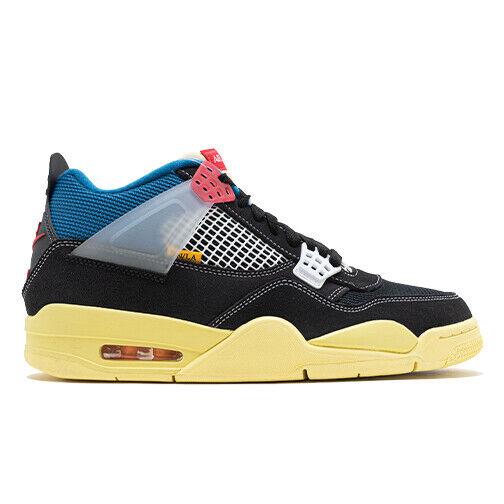 Size 9 - Jordan 4 Retro x Union LA Off Noir 2020 for sale online ...