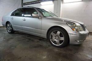 2005 Lexus LS 430 LUXURY PKG NAVI CAMERA DVD CERTIFIED 2YR WARRANTY *FREE ACCIDENT* SUNROOF BLUETOOT