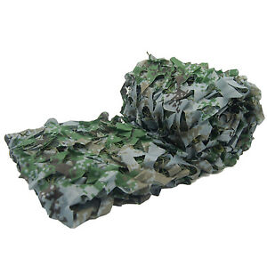 LOOGU Camo Camping Military Hunting Netting Outdoor Gear Camouflage Tactical Net