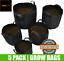 Fabric-Plant-Pots-Grow-Bags-Planter-Felt-Air-Herb-Fruit-Trees-4-12-20-30-Litre thumbnail 17