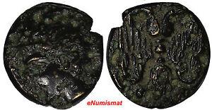 Katane-in-Sicily-413BC-Ancient-Greek-413-404-B-C-AE-Trias-Sear-1067-SCARCE