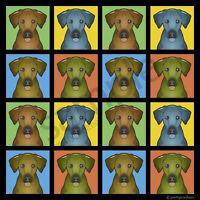 Rhodesian Ridgeback Cartoon Pop T-shirt, Men Women Youth Tank Short Long Sleeve