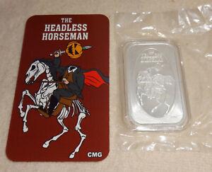 The-Headless-Horseman-Pumpkin-Head-999-Silver-Art-Bar-Proof-CMG