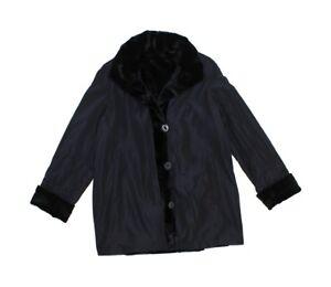 813470-New-Plus-Black-Sheared-Mink-Fur-Sections-Reversible-Stroller-Coat-4XL