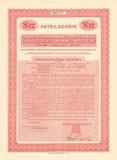 China Government 1938 Tientsin Pukow Railway £12 Bond Loan