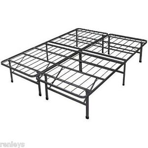 All Sizes Platform Steel Bed Frame No Box Spring Needed
