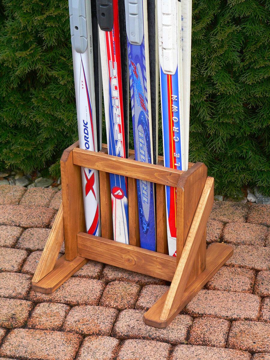 Langlaufski-Ständer, Skihalter für für Skihalter 4 Langlaufski-Paare 21acb0