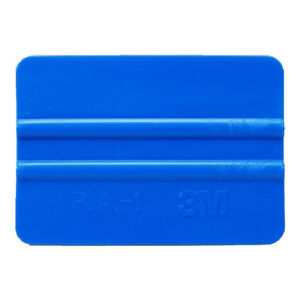 Details about 3M Blue Plastic Squeegee Car Vinyl Wrap Application Tool  Scraper Decal
