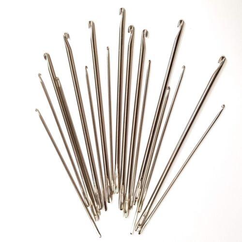 2mm or 4mm Strong Steel Hooking Needle Rugmaking Rag Rug-Making Locker Hook