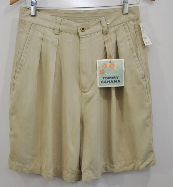 Tommy Bahama Size 10 Ladies Deck Shorts Wheat Womens Casual Cruise Golf New