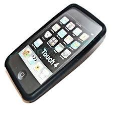 Silikon TPU Case Cover Hülle Schutzhülle für APPLE  iPod Touch 4 in SCHWARZ