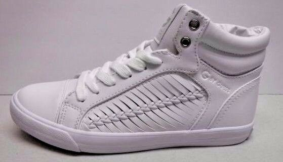 G by Guess Größe Sneakers 7.5 Weiß Hi Top Sneakers Größe New Damenschuhe Schuhes 0be22c
