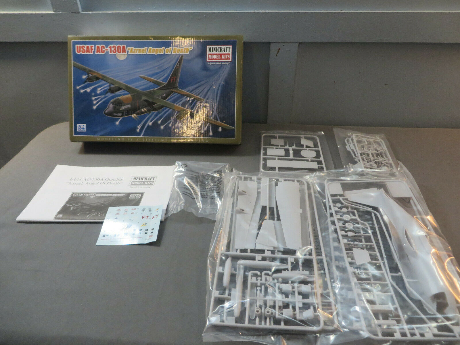 Minicraft Usaf Ac 130 H Gunship Model 1 144 Scale 2025 G For Sale