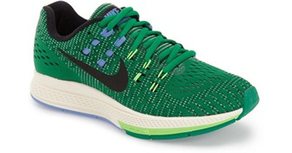 Nike Air Zoom Structure 19 fonctionnement Baskets Baskets Vertes UK 4.5 EU 38 US 7-