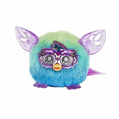 Furby Boom Furblings Green Blue Toy Electronic Talking Pet Ages 6+ Boys Girls