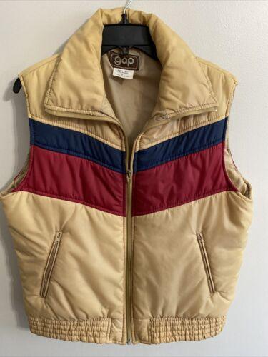 VTG  1970's GAP puffer vest Down Filled Size Large
