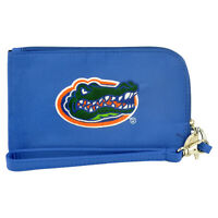 Ncaa Florida Gators Clip On Id Wallet Wristlet Phone Case Ladies Womens Blue
