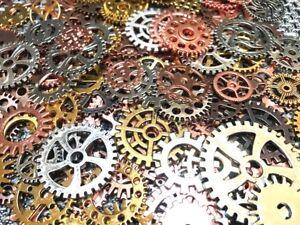 Zahnrad Mix Zahnräder Schmuck Anhänger Steampunk Gothic Basteln Kette Antik 7tg5 Other Beads & Jewelry Making