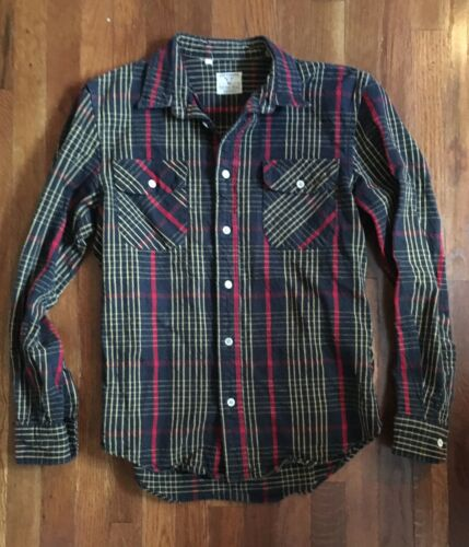 Levis Vintage Clothing Shorthorn Flannel Shirt LVC
