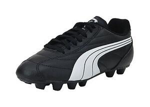 Puma Soccer Cleats Shoes Quaranta Junior Jr Youths Kids Children ... e0cee1df6668