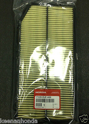 17220-RJE-A10 GENUINE HONDA OEM ENGINE AIR FILTER