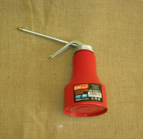 Oilcan Metal to Blower with Spout also ideal as dosacolla 300 ml