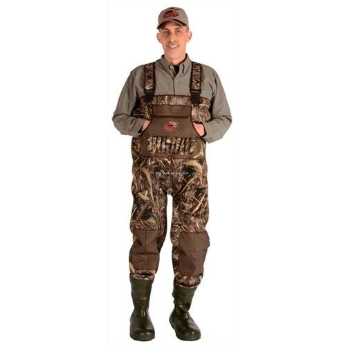 CADDIS MEN's  5MM NEOPRENE DURASTRETCH CHEST WADERS W 1600 GR, MAX-5 CAMO PATTERN  choices with low price