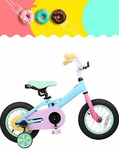 Joystar Macarons 16 Kids Bike With Training Wheels Kid S Girls Bicycle Ebay