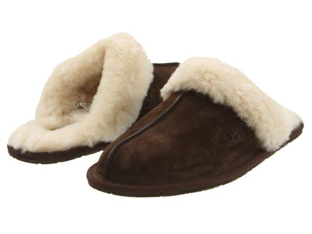 Women's Shoes UGG Scuffette II Slippers 5661 Espresso 5 6 7 8 9 10 11 *New*