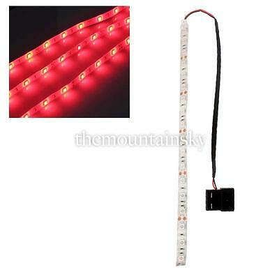 1/10X Red/Blue/Green 60cm LED SMD5050 PC Computer Case Strip Light Self-adhesive