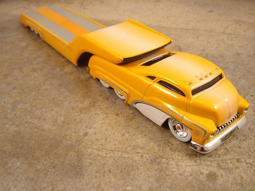 Butterscotch Fade Sledster Flatbed Bossco Custom Crew Hot Wheels Drag Bus Evo