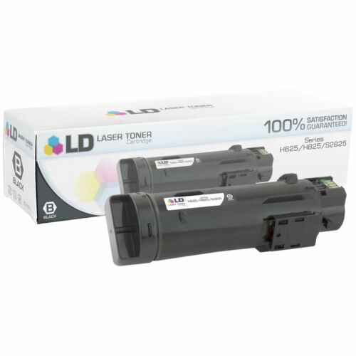 LD Compatible Dell 593-BBOW//N7DWF BLK Toner for Laser H625cdw//H825cdw//S2825cdn