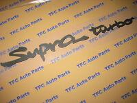 Toyota Supra Turbo Rear Emblem Decal Factory Genuine Toyota Mkiv 93-98 Supra