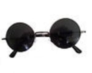 3 für 2 - Sonnenbrille John Lennon Nickelbrille runde Brille verspiegelt Hippie UMXxENfifK