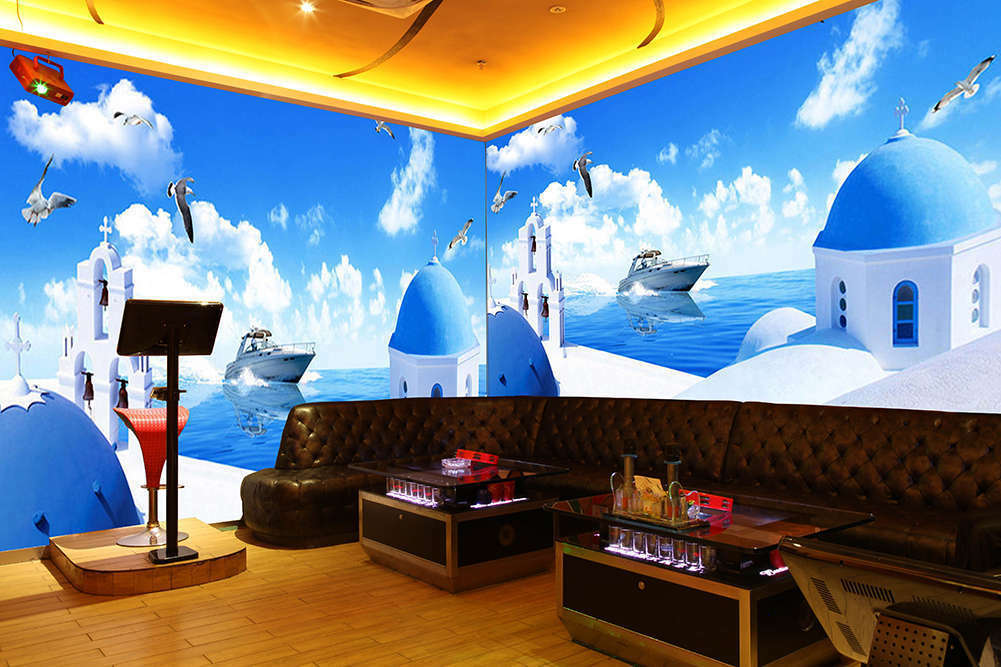Sea And Sky Same Farbe 3D Full Wall Mural Photo Wallpaper Print Home Kids Decor