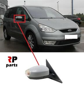 FOR-FORD-GALAXY-06-15-NEW-WING-MIRROR-ELECTRIC-HEATED-PRIMED-RIGHT-LHD