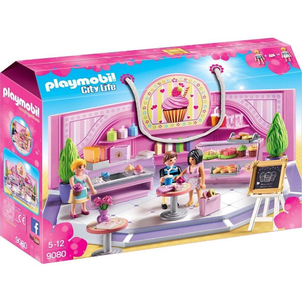 Playmobil città Life Cafe Cupcake 9080 Ragazza Giocattolo da  5 Anni  sport dello shopping online