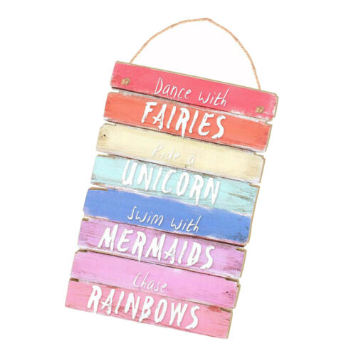 Colorful Printed Wooden Sign Hanging Wooden Saying Board Sign Plaque