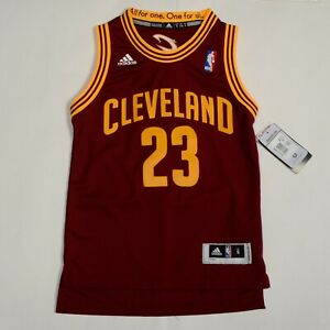 CLEVELAND CAVALIERS NBA LEBRON JAMES # 23 ADIDAS JERSEY KIDS $75 ...