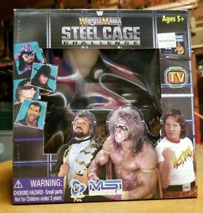Wwf Wwe Wrestlemania Steel Cage Challenge Plug Play Game Nes 25th Anniversary 840172056487 Ebay