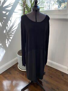 Witchery Black Tunic/Dress Size 12 EUC Party Corporate