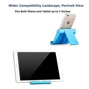 Telefono-PORTATILE-SCRIVANIA-DESKTOP-Stand-Holder-per-Tablet-Cellulare-iPhone-US-Blu