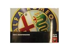 Manuale uso e manutenzione Alfa 156 ed. 2000  [3243.14]