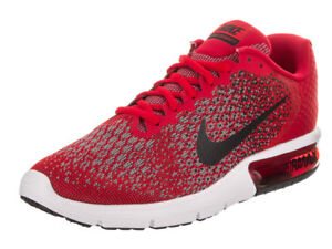 e0b4566302c Nike Air Max Sequent 2 Shoes-8-University Red Blk- 852461-600 NO LED ...