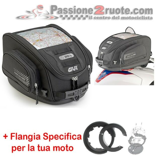 bolsa de depósito Ducati 1198 Givi UT809 Bf08 bolsa de depósito