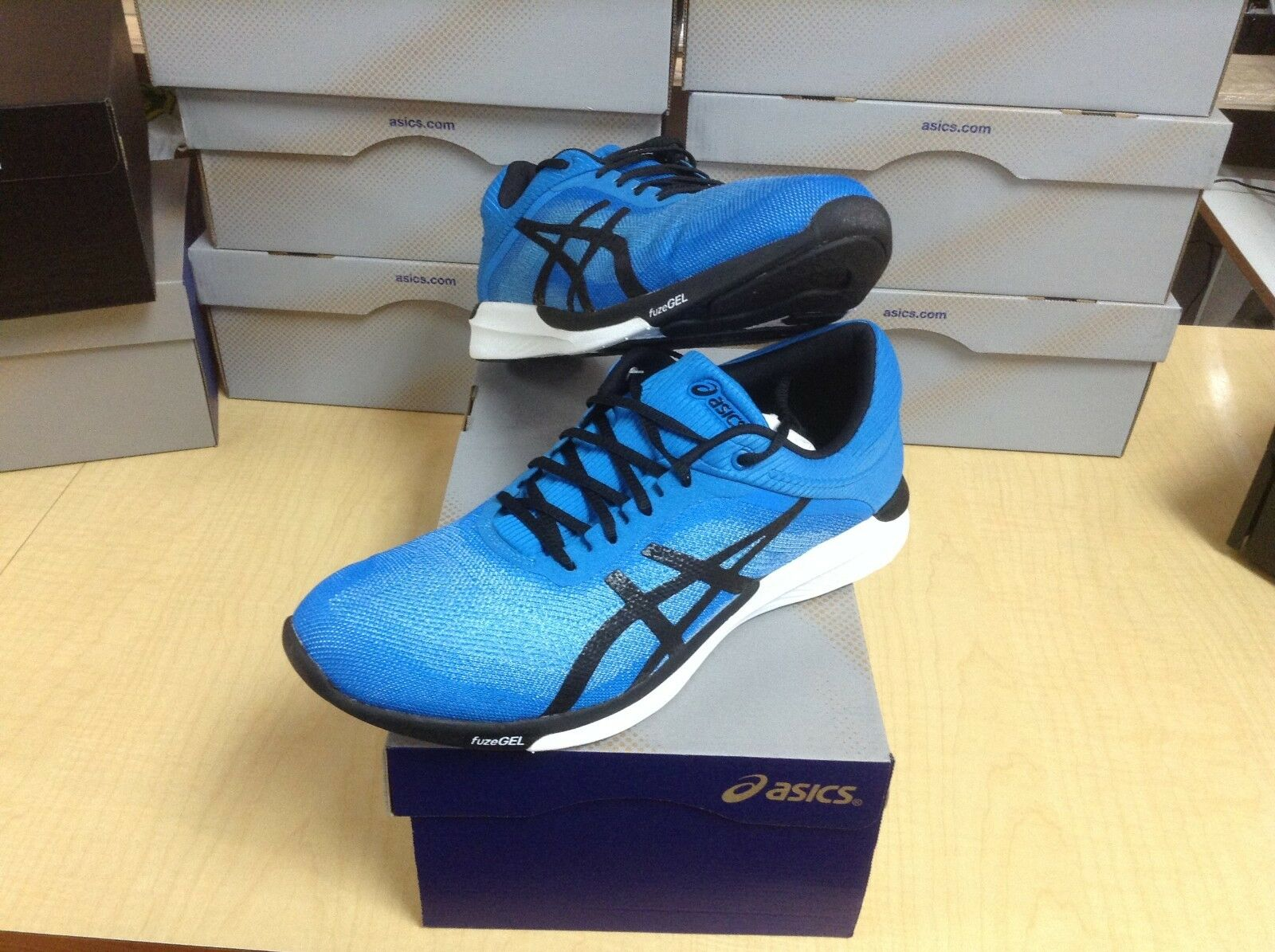 MEN'S ASICS - FUZEX RUSH (T718N-6790) - SIZE 9.5 - 40% OFF