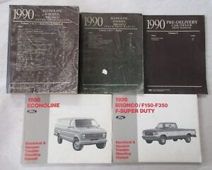 Ford e 350 econoline repair manual, service manual online 1990.