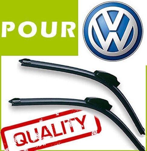 2x525mm BALAIS ESSUIE GLACE AERO pour VW New Beetle 1998-2008